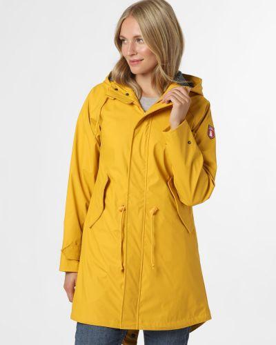 Żółta kurtka przeciwdeszczowa Derbe