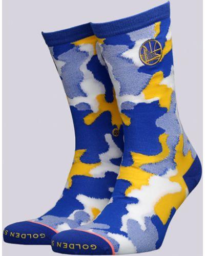 Синие носки нейлоновые Stance