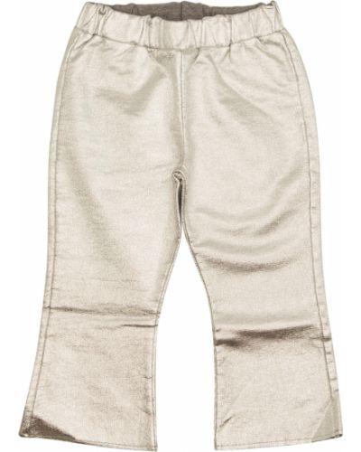 Beżowe spodnie Douuod