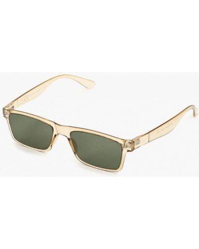 Солнцезащитные очки бежевый Topman