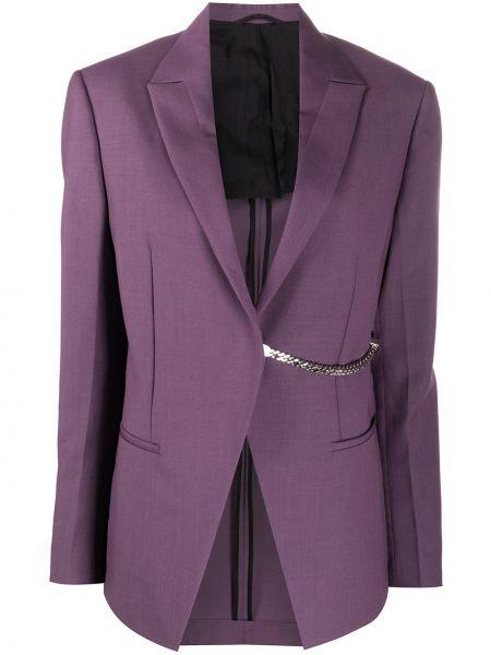 Фиолетовый шерстяной пиджак с карманами 1017 Alyx 9sm