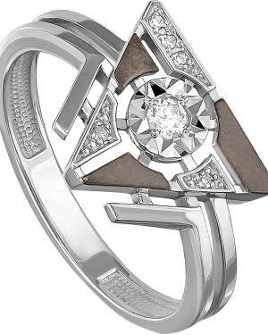 Кольцо из золота черный Kabarovsky