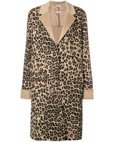 Пальто классическое на кнопках леопардовый P.a.r.o.s.h.