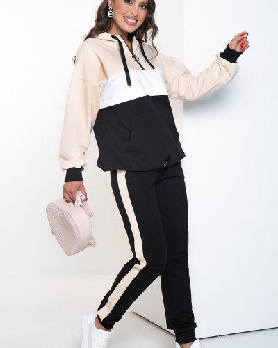 Белый демисезонный спортивный костюм Lady Taiga