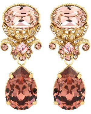 Золотые серьги серьги-кольца серьги-гвоздики Dolce & Gabbana
