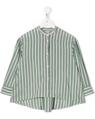 Рубашка с узором на пуговицах Brunello Cucinelli