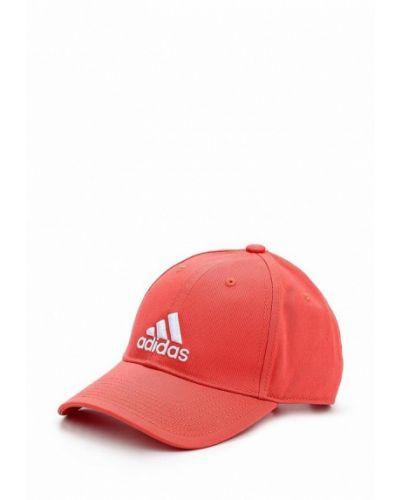 Бейсболка красная оранжевый Adidas