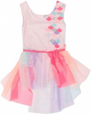 Różowa spódnica tiulowa bez rękawów Billieblush