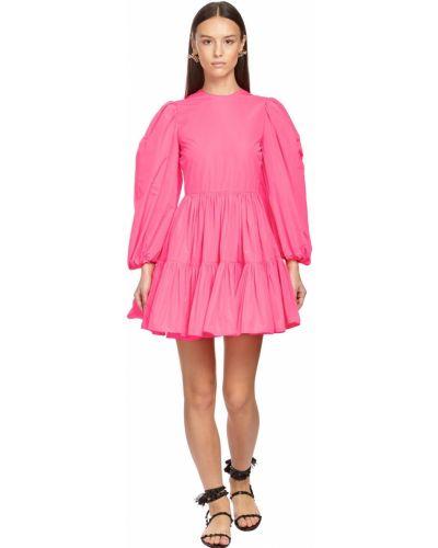 Платье макси длинное - розовое Valentino
