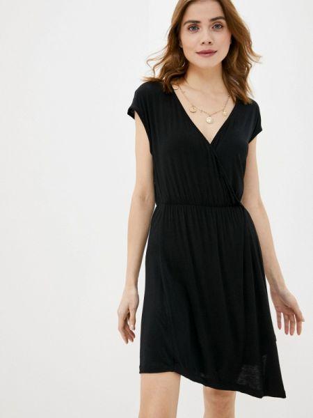 Платье прямое черное Brave Soul