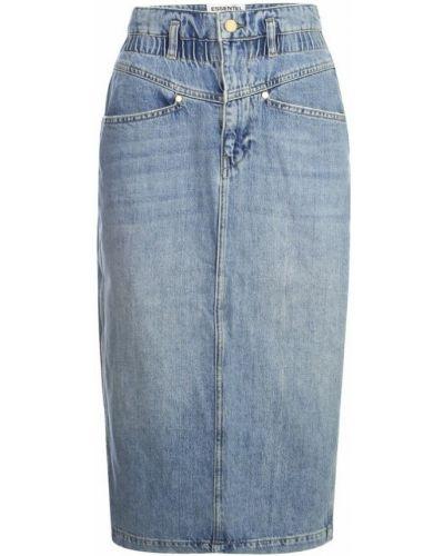 Niebieska spódnica jeansowa Essentiel Antwerp
