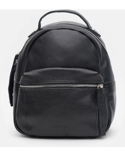 Кожаный рюкзак - черный Palmera
