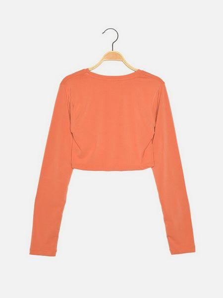 Топ - оранжевый Trendyol