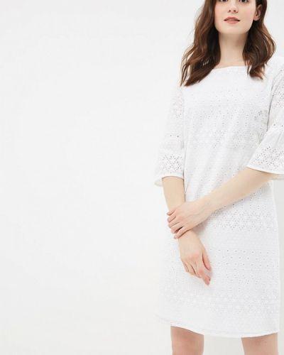 Белое платье прямое S.oliver