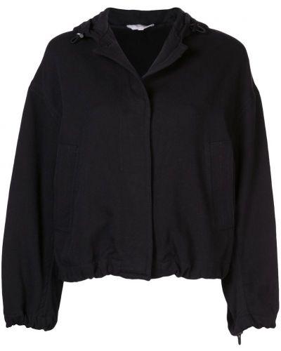 Черная куртка с манжетами Vince