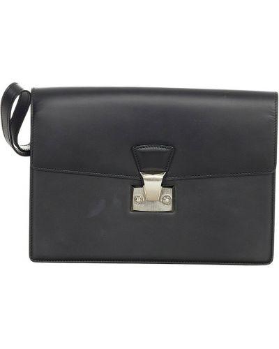 Kopertówka skórzana - czarna Cartier Vintage