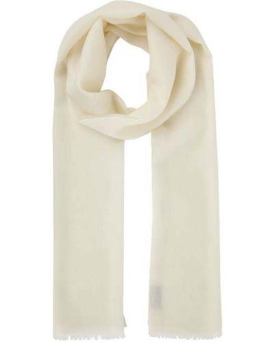 Biała szal wełniana Fraas