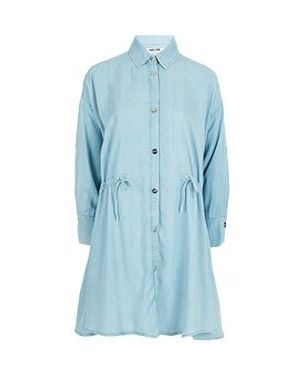 Синее джинсовое платье Max & Moi
