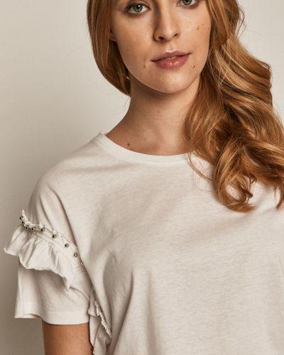 T-shirt bawełniany na co dzień oversize Medicine