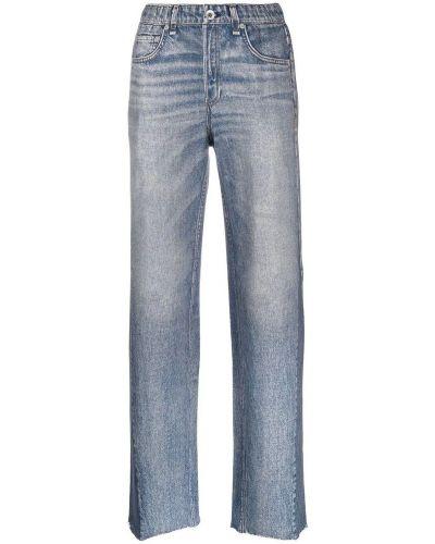 Spodnie - niebieskie Rag & Bone