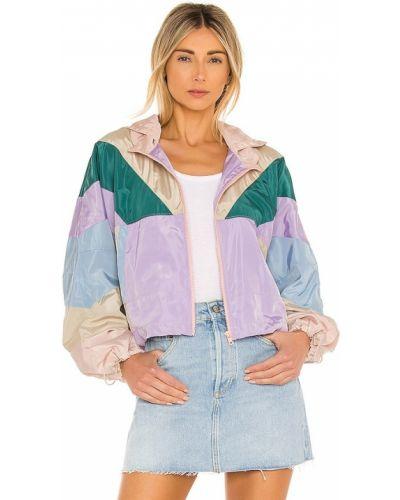 Фиолетовая домашняя ветровка с капюшоном [blanknyc]