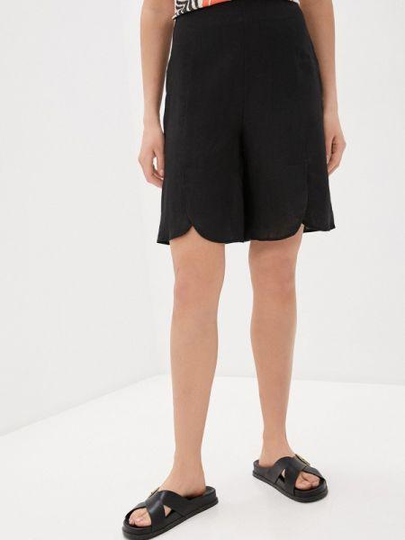 Повседневные черные шорты L'autre Chose