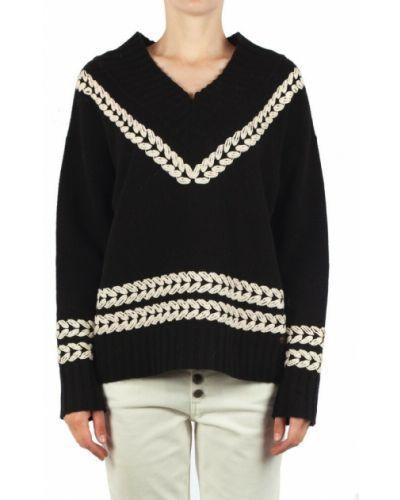 Czarny sweter Ottodame