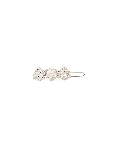 Заколка из серебра с кристаллами сваровски L. Erickson