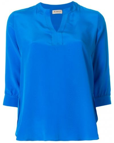 Блузка с рукавом 3/4 шелковая Blanca