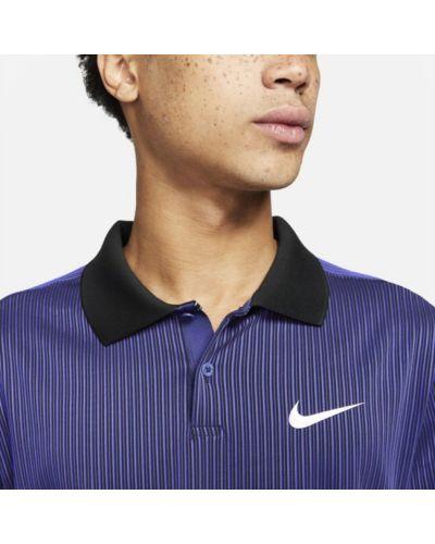 T-shirt do tenisa - fioletowa Nike