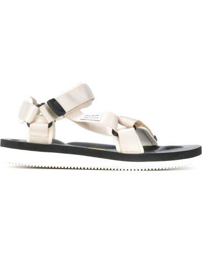 Otwarty z paskiem biały sandały otwarty palec u nogi Suicoke