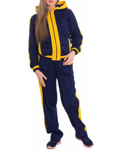 Спортивный костюм синий желтый Lacywear