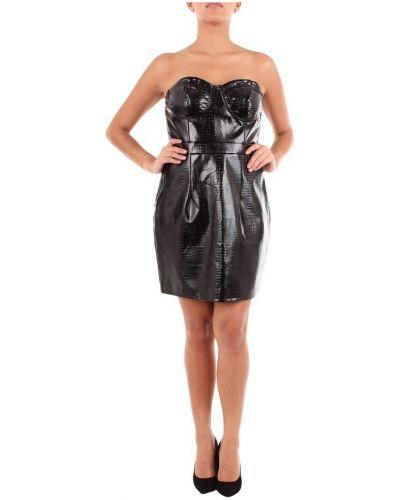 Czarna sukienka mini Saint Genies