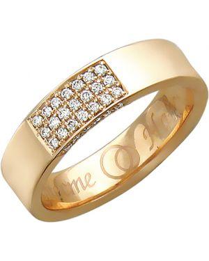 Кольцо из золота с бриллиантом эстет