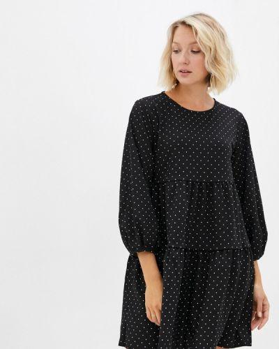 Черное платье осеннее Incity