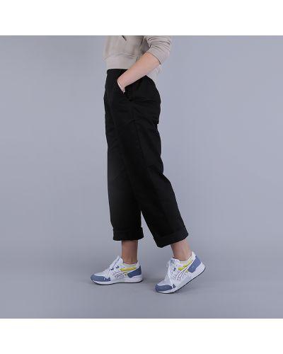 Черные брюки хлопковые Stussy