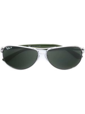 Солнцезащитные очки хаки с завязками Ray-ban