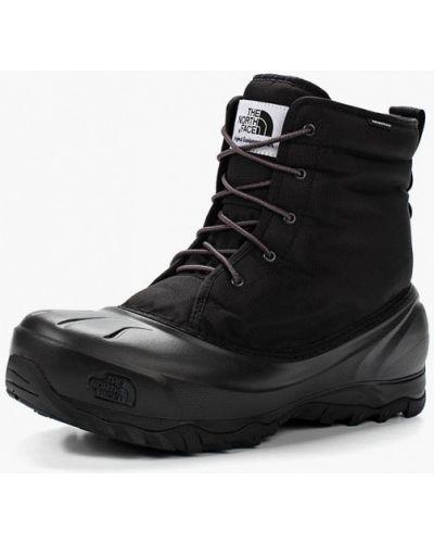 Черные ботинки осенние The North Face