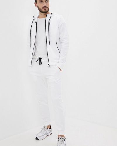 Костюмный белый спортивный костюм Blacksi