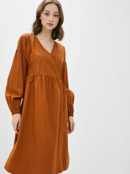 Однобортное платье Pieces