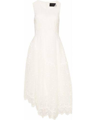 Платье миди с цветочным принтом ажурное Simone Rocha