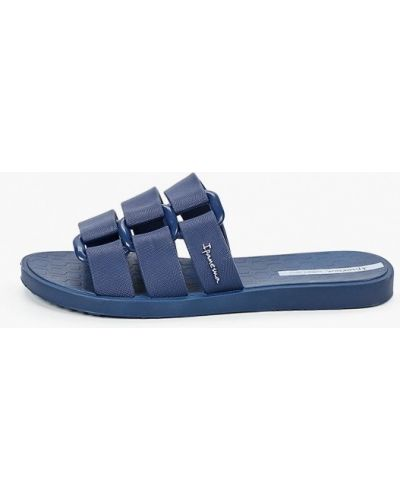 Синие пляжные шлепанцы Ipanema