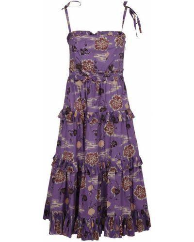 Fioletowa sukienka Ulla Johnson