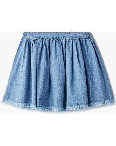 Джинсовая юбка голубой Sela