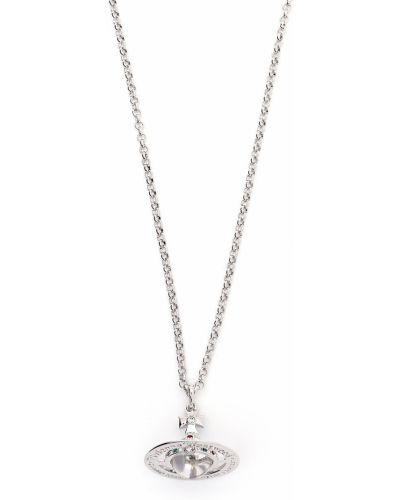 Ожерелье металлическое - серебряное Vivienne Westwood