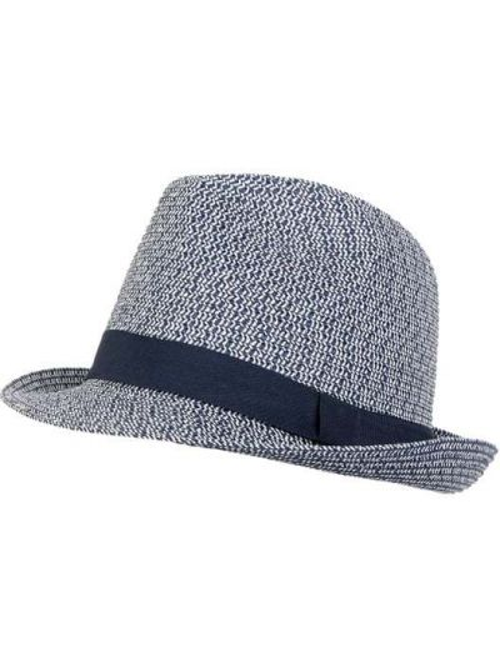 Niebieski kapelusz Müller Headwear
