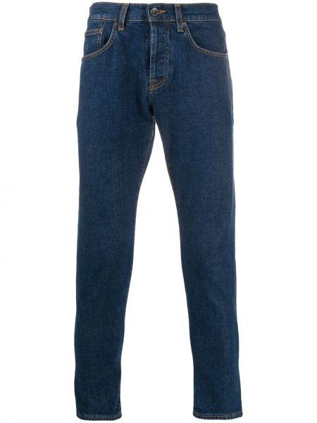 Klasyczne niebieskie jeansy skorzane Prps