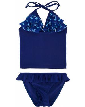 Темно-синий купальник с завязками Duskii Girl