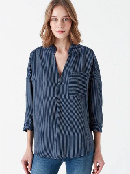 Блузка с длинным рукавом синяя весенний Mavi