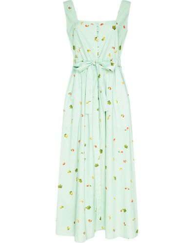 Платье миди на пуговицах летнее с поясом Akhmadullina Dreams